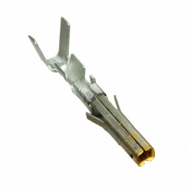 矩形连接器触头