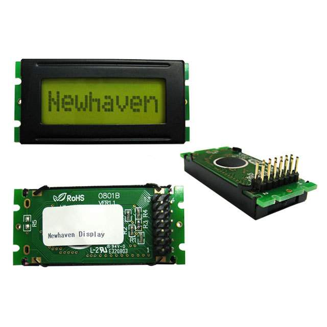 显示器模块 - LCD,OLED 字符和数字