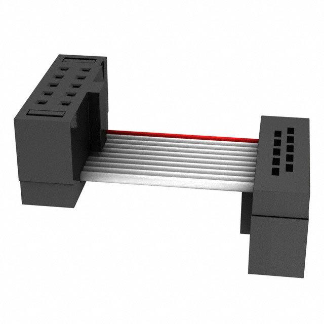 矩形电缆组件