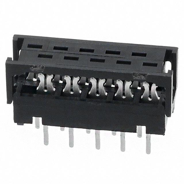 矩形线对板连接器