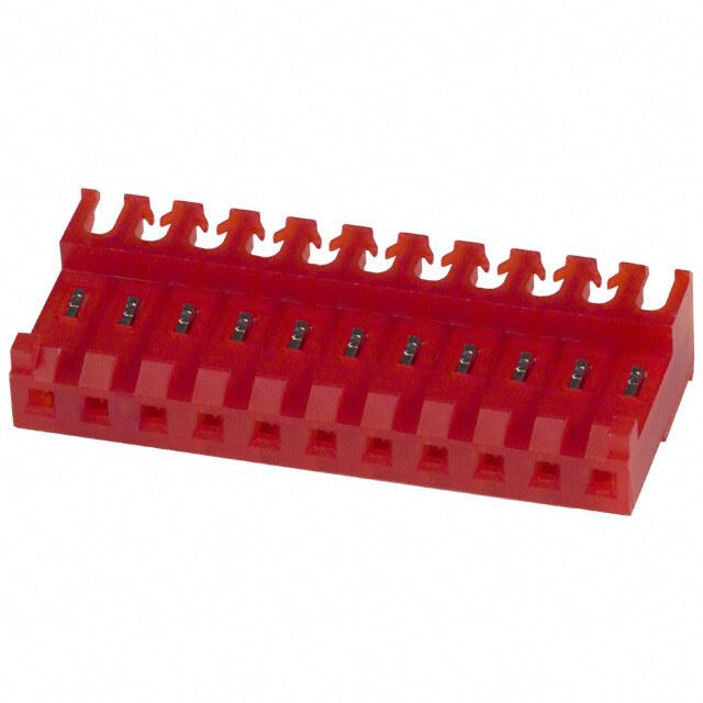 矩形连接器 - 自由悬挂,面板安装